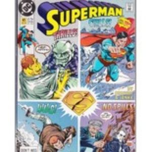 Superman By DC #41 Comic Book 1990 Thrills, Chills